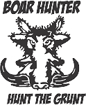 Big Game Hunting Decal 3
