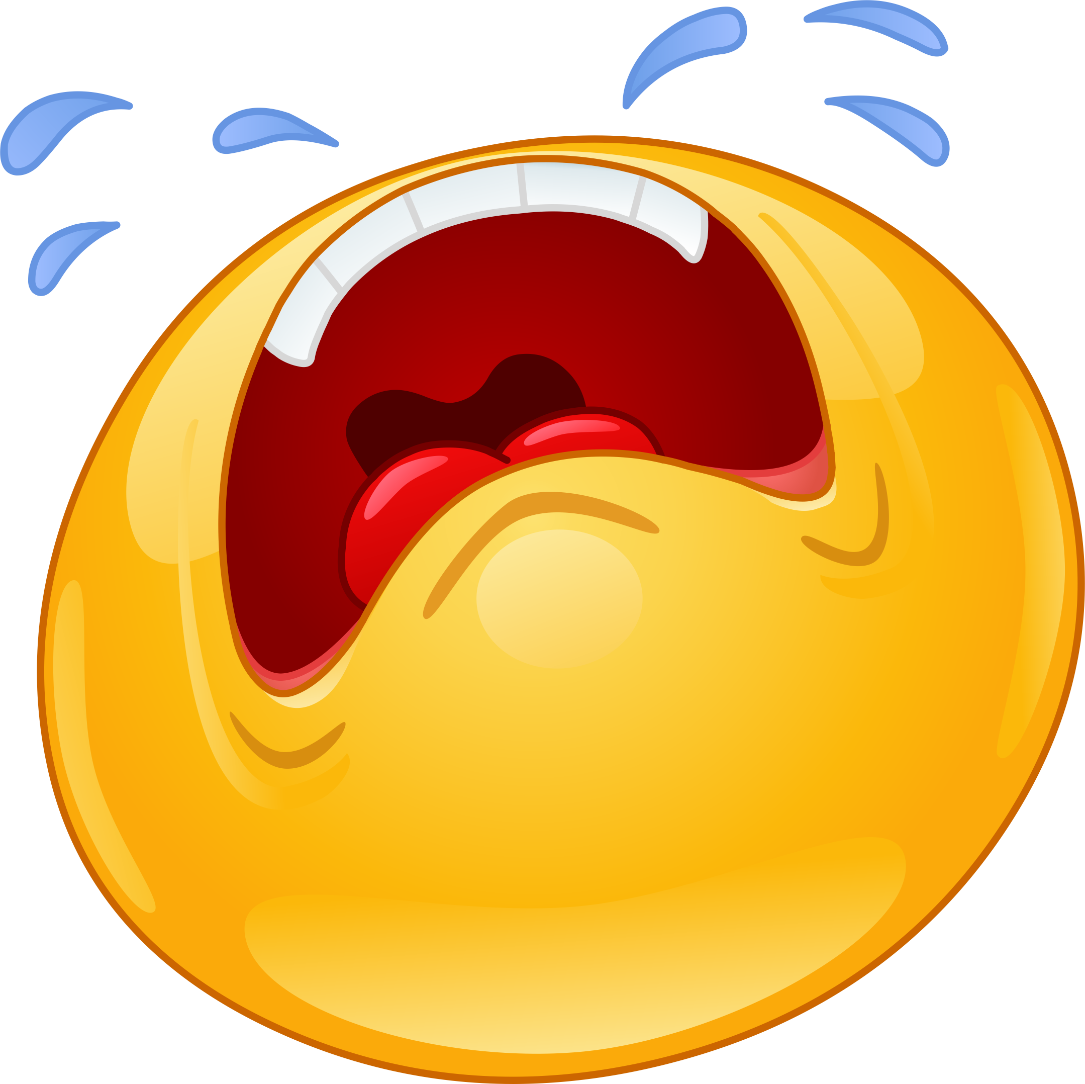 Crying Emoji Decal