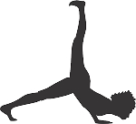 Exercise Silhouette Decal 17