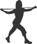 Exercise Silhouette Decal 20