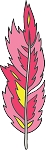 Feather Colored Decal 13