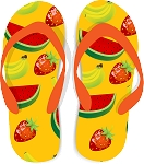 Flip Flop Colored Decal 62