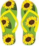 Flip Flop Colored Decal 72