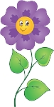 Colored Flowers Decal 12