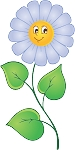 Colored Flowers Decal 14