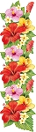 Colored Flowers Decal 20