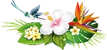 Colored Flowers Decal 24