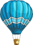 Hot Air Balloon Decal 10