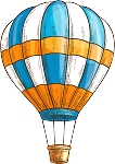 Hot Air Balloon Decal 11