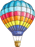 Hot Air Balloon Decal 12