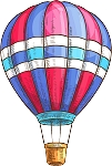Hot Air Balloon Decal 14