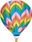 Hot Air Balloon Decal 15
