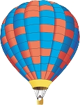 Hot Air Balloon Decal 16