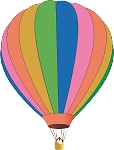 Hot Air Balloon Decal 18
