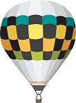 Hot Air Balloon Decal 20
