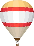 Hot Air Balloon Decal 21