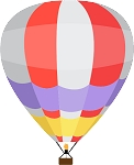 Hot Air Balloon Decal 22