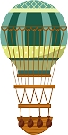 Hot Air Balloon Decal 24