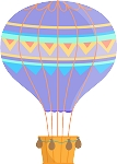Hot Air Balloon Decal 37