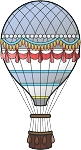Hot Air Balloon Decal 3