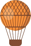 Hot Air Balloon Decal 40