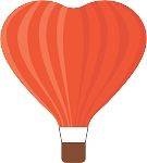 Hot Air Balloon Decal 41