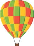 Hot Air Balloon Decal 43