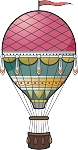 Hot Air Balloon Decal 4