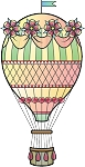 Hot Air Balloon Decal 5