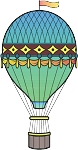 Hot Air Balloon Decal 6