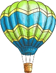 Hot Air Balloon Decal 8