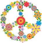 Peace Sign Decal 13