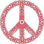 Peace Sign Decal 16
