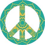 Peace Sign Decal 17