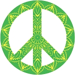 Peace Sign Decal 19
