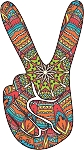 Peace Sign Decal 20
