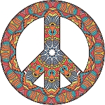 Peace Sign Decal 22