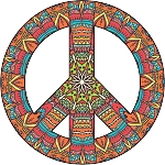 Peace Sign Decal 23