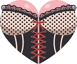Sexy Heart Decal 11