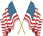 American Flag Decal 2