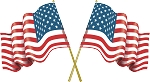 American Flag Decal 3