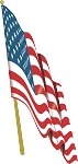 American Flag Decal 4