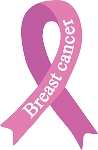 breast cancer ribbon decal 2
