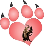 cat paw 11 decal