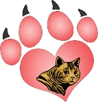 cat paw decal 9