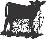 Cow Decal 6