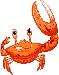 Crab Wall Decal 20