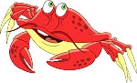 Crab Wall Decal 27