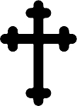 cross 9 decal