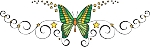 Decorative Butterfly Color Decal 10